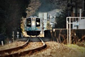 冬の二俣本町駅 4