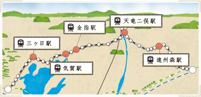 レンタサイクルマップ
